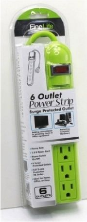 I WANT THIS! Who said that a surge protector can't be part of your #dorm #decor? Surely, we didn't! Our 6-Outlet Surge Protected Power Strip in Lime Green is not only fun and vibrant, but it's also a total college necessity! Check it out here: http://www.dormco.com/SearchResults.asp?Search=6-Outlet Surge Protected Power Strip - Lime Green