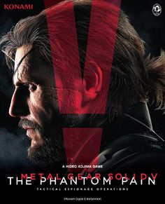 MGSV: The Phantom Pain...I'm so stoked about this!!!