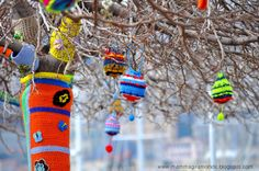 Viaggiare è il mio peccato!!: Intrecci Urbani. Yarn bombing a Genova