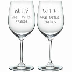 For you and your best WTF. | 21 Wineglasses That Understand Your Struggle