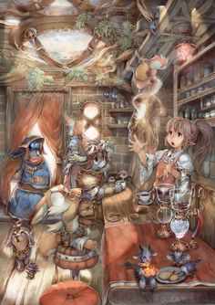 by Ryota Murayama Manga Comics, Character Art, Character Design, The Ancient Magus, Cg Art, Pokemon, Manga Illustration, Fantasy Artwork, Game Art