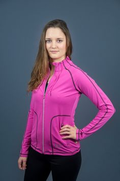 Purelime Gym Addict Jacket Magenta - €47,95