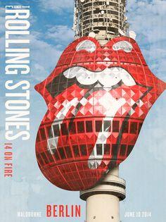 The Stones | 2014 Tour Poster.
