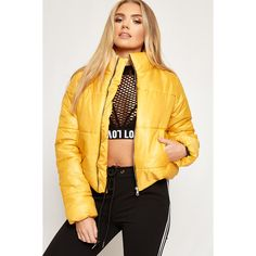 7bc9ff88a 33 Best Mustard puffer jacket images in 2017 | Mustard puffer jacket ...