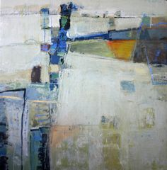 Delta Road Trip, 36 x 35, Leslie Allen at Donna Seager Gallery