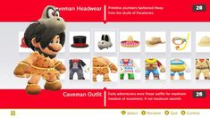 This is the Caveman Headwear and the Caveman Outfit! And its new I think.