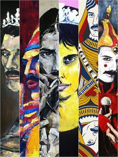 All of this Freddie art is so cool