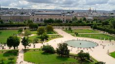 Visitors to the Tuileries Palace and Garden instantly realize why this crowded spot is the place to be in the spring and summer. During the weekend, it's not uncommon to see locals lying on the lawn and chatting with friends while thousands walk through the gardens and the palace's grounds. After the death of her husband Henri II in 1559, Catherine de Medicis had the palace built, featuring a large Italian-style garden to remind her of her home in Tuscany.