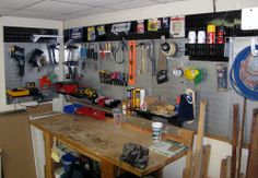 For garage - Wall Control 30-WGL-200GVB Galvanized Steel Pegboa...
