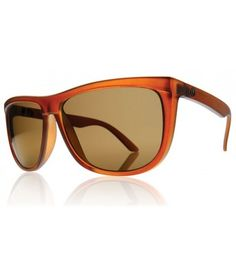 6fd18089904 Electric Sunglasses Tonette - Otter Brown Bronze Chrome Lens  89.00