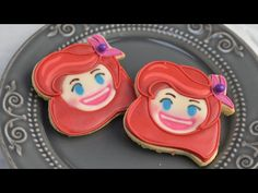 I made Ariel Cookies, the world renowned Mermaid. In this videos I show you how to make Ariel, Disney Emoji Blitz Cookies. Enjoy. I love to bake, decorate co...