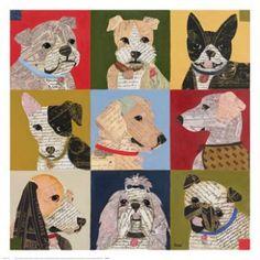 Karen Dupre Nine Lives Fine Art Poster Print