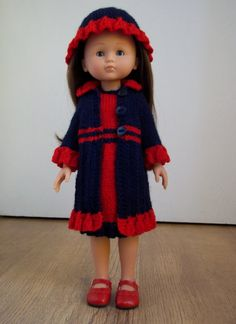 Sweet Little Miss PDF Doll Clothes knitting by CCknittingDesigns