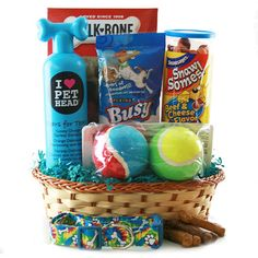Pampered Pooch Pet Gift Basket Dog - What more to say other than we just LOVE cool stuff! Check out our store for even more COOL stuff! <3