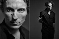 Valerio Aprea photographed by Eolo Perfido