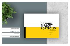 Ad: Graphic Design Portfolio Template by adekfotografia on / US Letter - Graphic Design Portfolio Template This is 40 page minimal brochure template is for designers working on product/graphic Template Brochure, Brochure Design, Creative Brochure, Resume Templates, Design Room, Interior Design, Book Design, Design Art, Portfolio Design