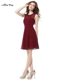 Alisa Pan Women Dresses Ever Pretty HE05253 Women Round Neck Short Casual Party Dress