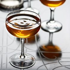 The Ascot:The Ascot is a sophisticated sipping cocktail, smooth in texture but worldly in manner.