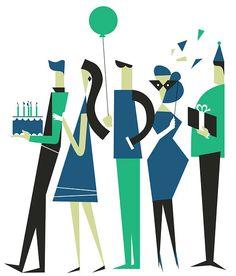 illustration / july-december 13 by iv orlov, via Behance