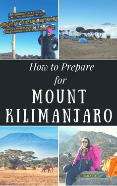 How to Prepare for Climbing Mount Kilimanjaro & Top Tips for Reaching the Top Kilimanjaro Climb, Hiking Gear, Hiking Trips, Backpacking, Road Trip, Les Continents, Safari, Africa Travel, Viajes