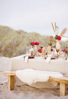 outdoor beach tables