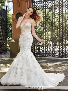 Sophia Tolli - Palermo - Y21659 - All Dressed Up, Bridal Gown
