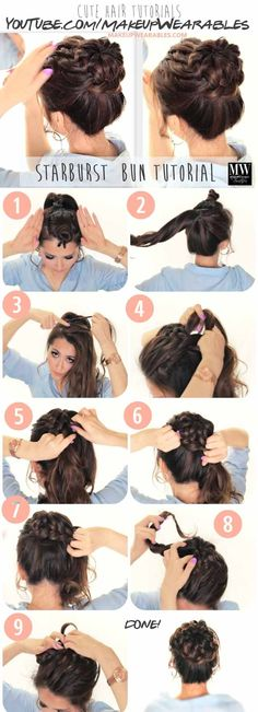 Best Hairstyles For Teens - Fall Updo - Easy And Cute Haircuts And Hairstyles For Teens And Girls. Cute Ideas Like Braids And Tutorials And Tips For All Types Of Teen Hair From Short Hair To Medium Length Hair And Even Some Great Hair Styles For Long Hair. Super Cute Back To School Hairstyles And The Most Popular Looks For Summer and Fall. Try A Bob or A Half Up Half Down Style. Or Use The Simple Pony That Is Great For Prom, Gym Class, or Just After School. Back-To-School Cute Hairstyles For…