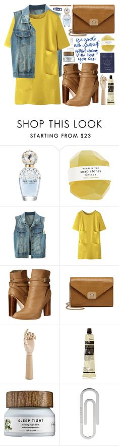"""""""Untitled #1168"""" by noviii ❤ liked on Polyvore featuring Marc Jacobs, Cynthia Vincent, Mulberry, Passport, HAY, Aesop, Bulgari, shu uemura, women's clothing and women's fashion"""