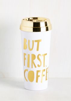 Brews Almighty Travel Mug In White You Need A Boost To Get Through Your Morning