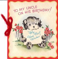 Fabulous E-Card Birthday Wishes For Best Uncle