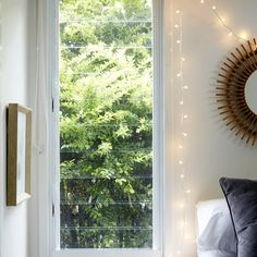 Shop micro fairy lights from Twist and shape as you like, with plug-in and battery powered options in stock now! Warm White, Home, Furnishings, Fairy Lights, Cosy Bedroom, Fairy Lights Bedroom, Festoon Lighting, White Cables, Headboards For Beds