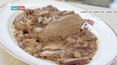 La ricetta dell'arrosto castagne e funghi del 2 marzo 2015 #MoltoBene