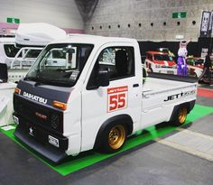 Some people enjoy shopping for a new car, but some also really thing it's a little annoying to search for one. Mini Trucks, Cool Trucks, Isuzu Motors, Drift Truck, Volkswagen Golf Mk2, Kei Car, Daihatsu, Truck Camper, Japanese Cars