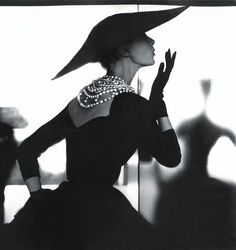 Photo 1 from Barbara Mullen (Blowing Kiss), for Harper's Bazaar, ca. 1950