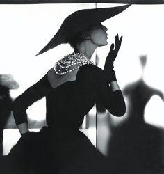 Photo 1 from Barbara Mullen (Blowing Kiss), for Harper's Bazaar, ca. 1950