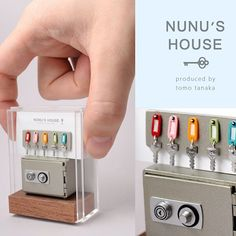 2017.12 Miniature Keys ♡ ♡ By Nunu's House