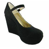 Zapatos Taco Chino Con Plataforma Nuevos!! cf0a99ba9609