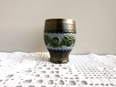 Small West Germany Vase  Nr. 0021 02/03 from от DelicateRetro
