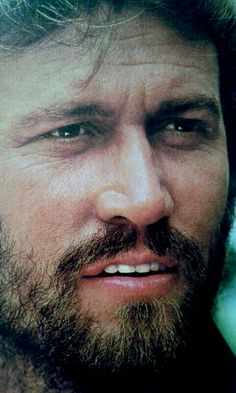 Barry Gibb, from the Bee Gees.