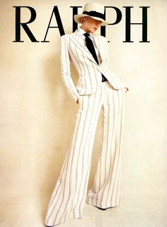 There is perhaps no more iconic American designer than Ralph Lauren. My love affair of all thing Ralph Lauren started back when I was in el. Ralph Lauren Love, Ralph Lauren Suits, Timeless Fashion, High Fashion, Vintage Fashion, Men Fashion, Fashion Tips, Elegantes Outfit, Comme Des Garcons