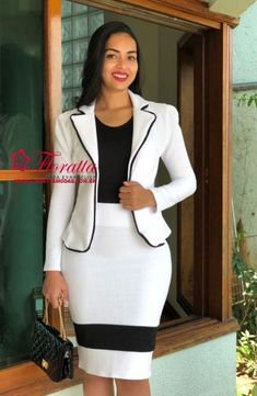Great New African Stylish Fashion Tips 5014601250 Stylish Work Outfits, Business Casual Outfits, Professional Outfits, Latest African Fashion Dresses, Women's Fashion Dresses, Corporate Fashion, Work Dresses For Women, Clothes, Fashion Tips