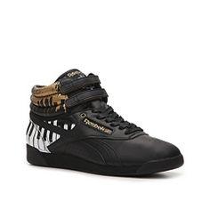 Shop  Reebok Freestyle High-Top Piano Key Sneaker By Alicia Keys - Womens