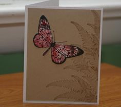 Butterfly Found by mayodino - Cards and Paper Crafts at Splitcoaststampers
