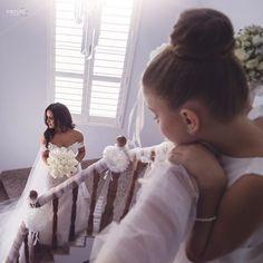 """#Repost @emiliobphotography ・・・ Big Dreams✨ #LikeNoOther Image @emiliobphotography | Cinema @iconic_films | Gown @georgeelsissa | Hair @petawinterbridalhair | Florals @johnemmanuelfloralevents #wedding #weddinginspiration #details #engaged #bridetobe #bouquet #florals #weddinggown #casamento #weddingphotography #weddingphotographer @brides_weddings  @brides_style @bridesjournal @weddings_brides"" by @georgeelsissa."