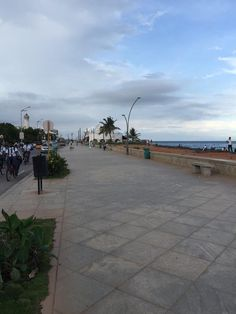 Promenade #beach #pondicherry Image by @nanthinito Use #MyPYpic to have your pics featured by us