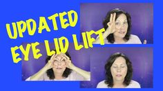 Facial Exercise - Eyelid Lift Updated - for Droopy Hooded Eyelids | FACE...
