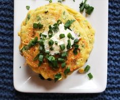 Quick Recipe: Healthier Zucchini and Carrot Fritters (maybe use almond &/or coconut flour) Vegetable Pancakes, Zucchini Pancakes, Pancakes And Waffles, Potato Pancakes, Quick Recipes, Cooking Recipes, Kid Recipes, What's Cooking, Veggie Recipes
