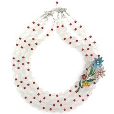 Ever-Present Color necklace by Elva Fields