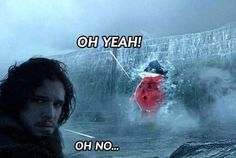 """Game Of Thrones: 33 Best Memes And Reactions To The EPIC Season 7 Finale - Funny memes that """"GET IT"""" and want you to too. Get the latest funniest memes and keep up what is going on in the meme-o-sphere. Game Of Thrones Pictures, Game Of Thrones Meme, Kool Aid Man, Funny Quotes, Funny Memes, Nerd Funny, Jokes, Got Memes, News Games"""