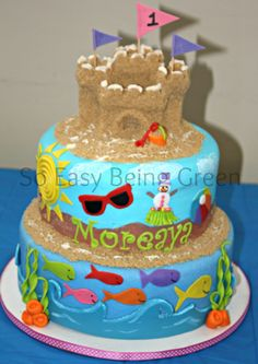 beach food ideas | Pin Beach Party Food Ideas For Easy Fun And Cakes Cake on Pinterest